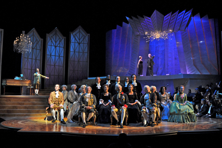 Amadeus at the Clarence Brown Theatre, photo courtesy of Elizabeth Aaron.