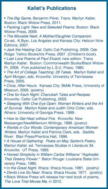 Kallet's publications