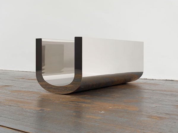 Untitled sculpture by Wade Guyton
