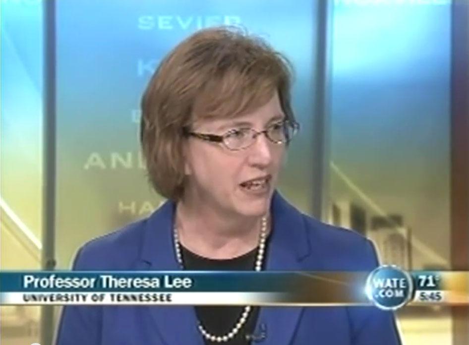 Dean Theresa Lee Interview on WATE
