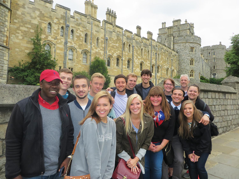 Professor Ian Downs_Students_London 2015 532