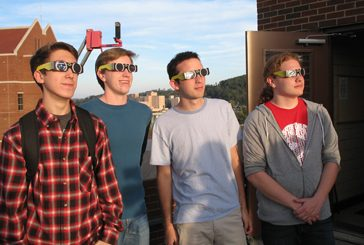student view partial solar eclipse